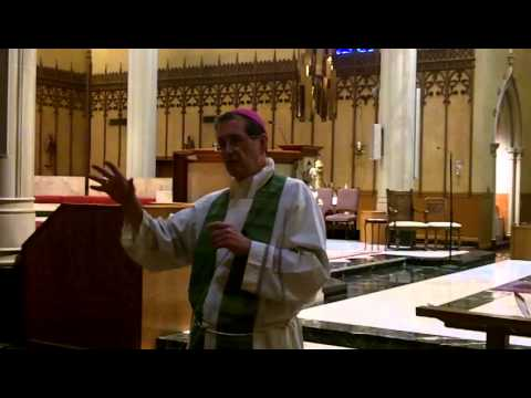 Bishop's Lunchtime Lecture on The Holy Eucharist (Part 3) - July 9, 2014