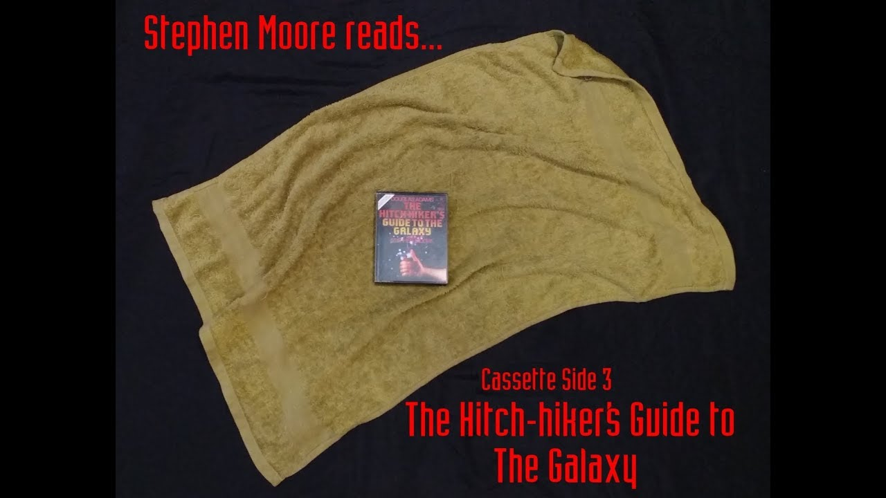 Download Stephen Moore Reads :The Hitch-hiker's Guide to the Galaxy - Cassette Side 3