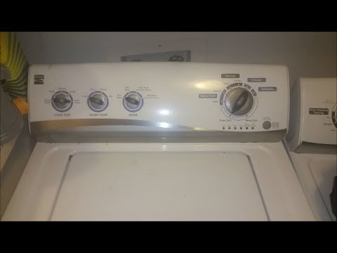 Kenmore Washer Won't Spin And Makes Noise