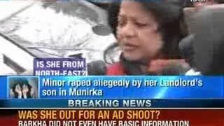 rape shame in delhi dcw chief barkha singh s ignorance caught on camera newsx