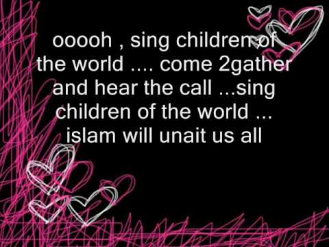 sing children of the world