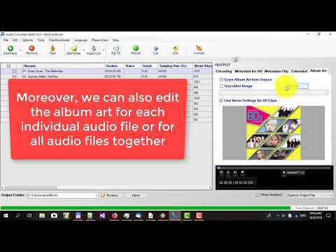 How to convert MP3 files and other audio files with Audio Converter 4dots