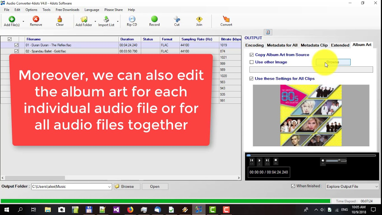 Mp3 converter and audio converter mp3 to flac