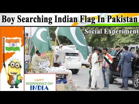 Boy Searching Indian Flag In Pakistan | Happy independence Day India 2018