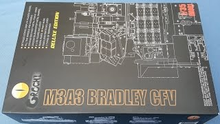Unboxing Orochi M3A3 Bradley Deluxe Edition 1/35