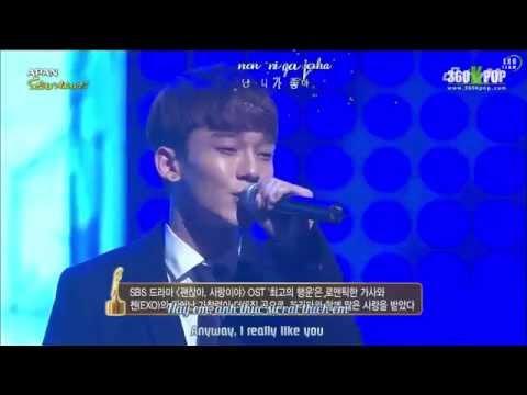 download [Vietsub+Engsub+Kara][Perf] 141115 CHEN - Best Luck @ Daejeon Drama Festival [EXO Team]
