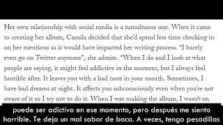 """Camila Cabello """"Ahora hago música que amo de verdad"""" [Subtitulado]"""