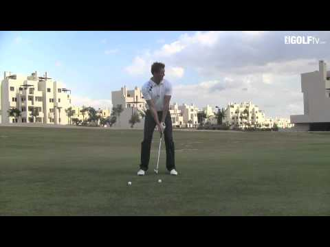 Golf Tips tv: Learn to hit through the ball
