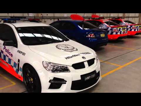 NSW Police Force Walkinshaw and DJR