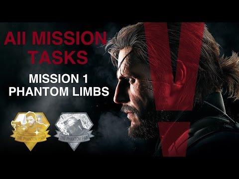 Metal Gear Solid V: The Phantom Pain - All Mission Tasks (Mission 1 - Phantom Limbs)