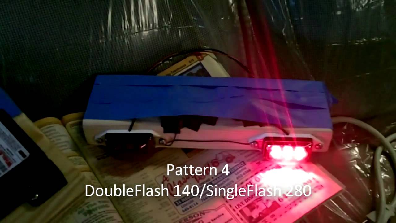 whelen uhf2150a headlight flasher demo [ 1280 x 720 Pixel ]