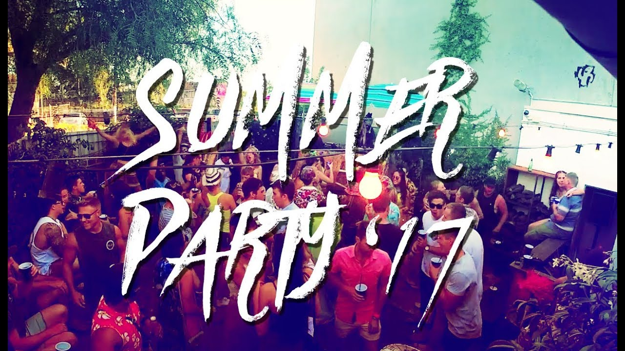 Summer Party 2017 Part I - Melodic Techno Warm Up Set // Live DJ Mix Boiler  Room Style