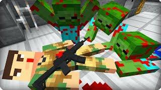 Он погиб как Герой! [ЧАСТЬ 20] Зомби апокалипсис в майнкрафт! - (Minecraft - Сериал)