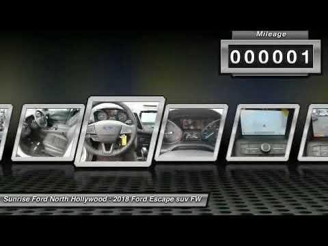 2018 Ford Escape North Hollywood,Los Angeles,San Fernando Valley,Glendale,Burbank M80160