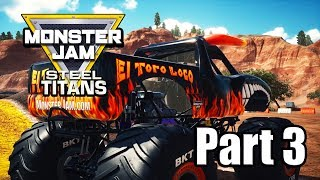 Monster Jam Steel Titans - Part 3 Gameplay | Arena Trials Events [PS4 PRO]