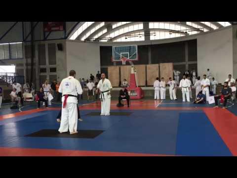 KWF Kyokushinkai Karate Costa Rica - Jodan Mawashi Geri Ippon