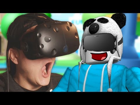 PLAYING ROBLOX IN VR!! (HTC Vive Virtual Reality)