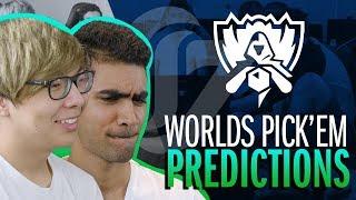 CLG Worlds 2017 Pick'Em Predictions Challenge - Part 1