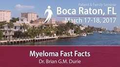 Myeloma Fast Facts - Boca Raton PFS 2017