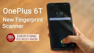 OnePlus 6T fingerprint scanner: Is it fast? | India Today Tech