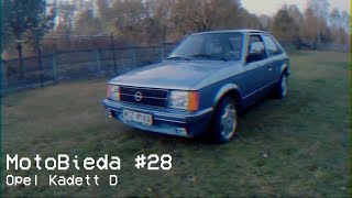 Opel Kadett D - Zaginiony test z 1982 roku - MotoBieda #28