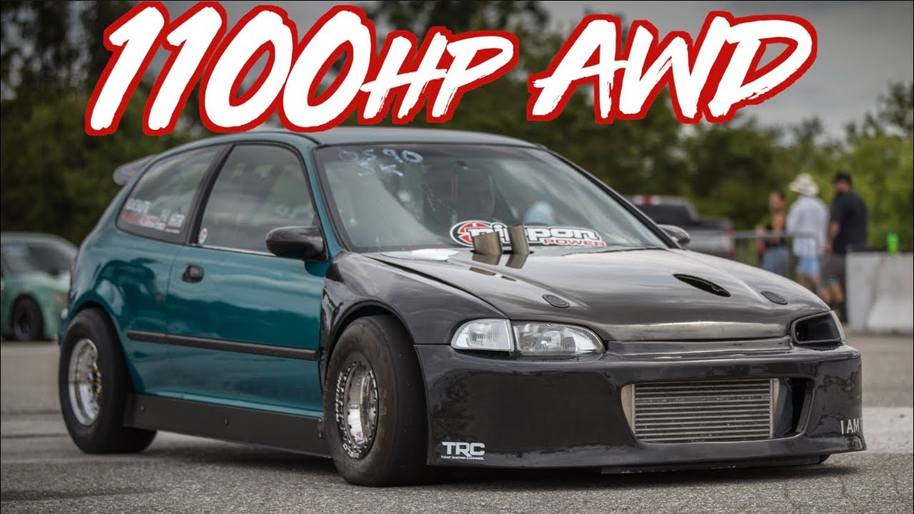 1100HP AWD Honda Civic! - Frustrate EG - Turbo and Stance