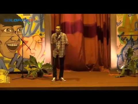 "Abdur ""SUCI"" Sindir Presiden Jokowi Habis-Habisan at Stand Up Comedy UNS Solo"