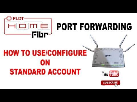 PLDT Fibr port forwarding - Updated - YouTube