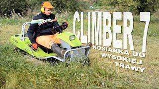 Kosiarka do wysokiej trawy Climber 7 (karczownica)