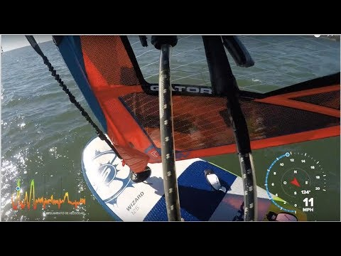 WINDFOILING ON THE SLINGSHOT WIZARD