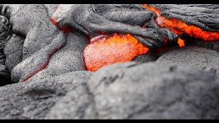 Kalapana Lava Flow RAW 4K Footage, Hawaii