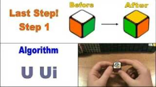 how to solve the 1x1 rubik s cube