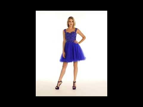 FDS1242 Flirty Homecoming Dress