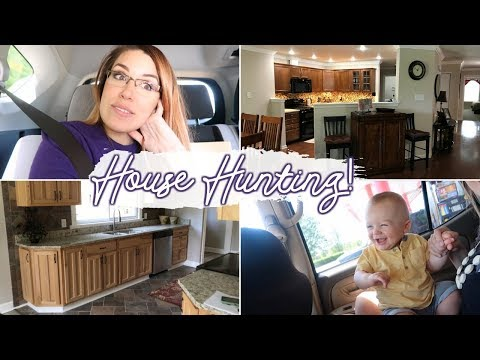 HOUSE HUNTING | DAY IN THE LIFE OF A STAY AT HOME MOM WITH A BABY VLOG 2018