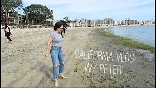 LIVING IN A CAR W/ TWO PEOPLE: CALIFORNIA VLOG!   Katie Carney
