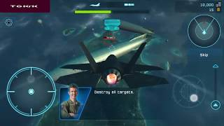 Battle Of WarPlanes : First Attack : Destroy All The Targets [Android Game]  Youtube