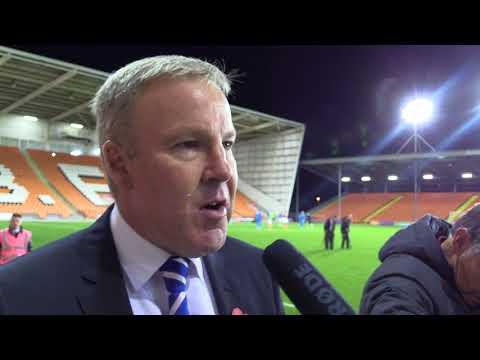 Kenny Jackett post-Blackpool