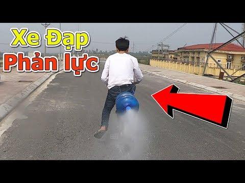 DMP Vlogs - Chế Xe Đạp Phản Lực Chạy Bằng Nước Và Gas Siêu Lầy Và Cái Kết