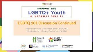 LGBTQ+ 101 Discussion