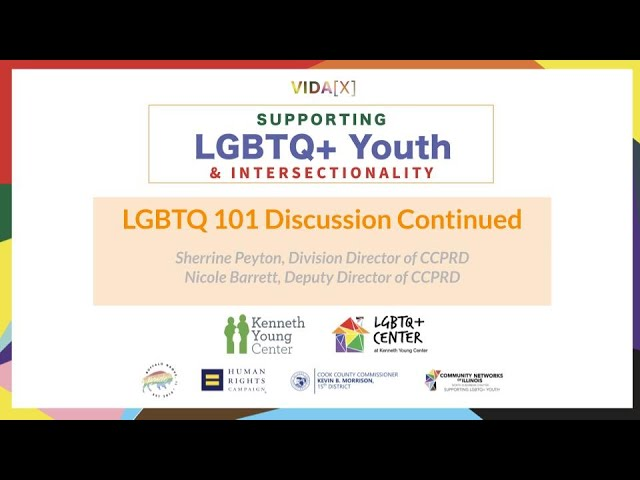 LGBTQ+ 101 Discussion