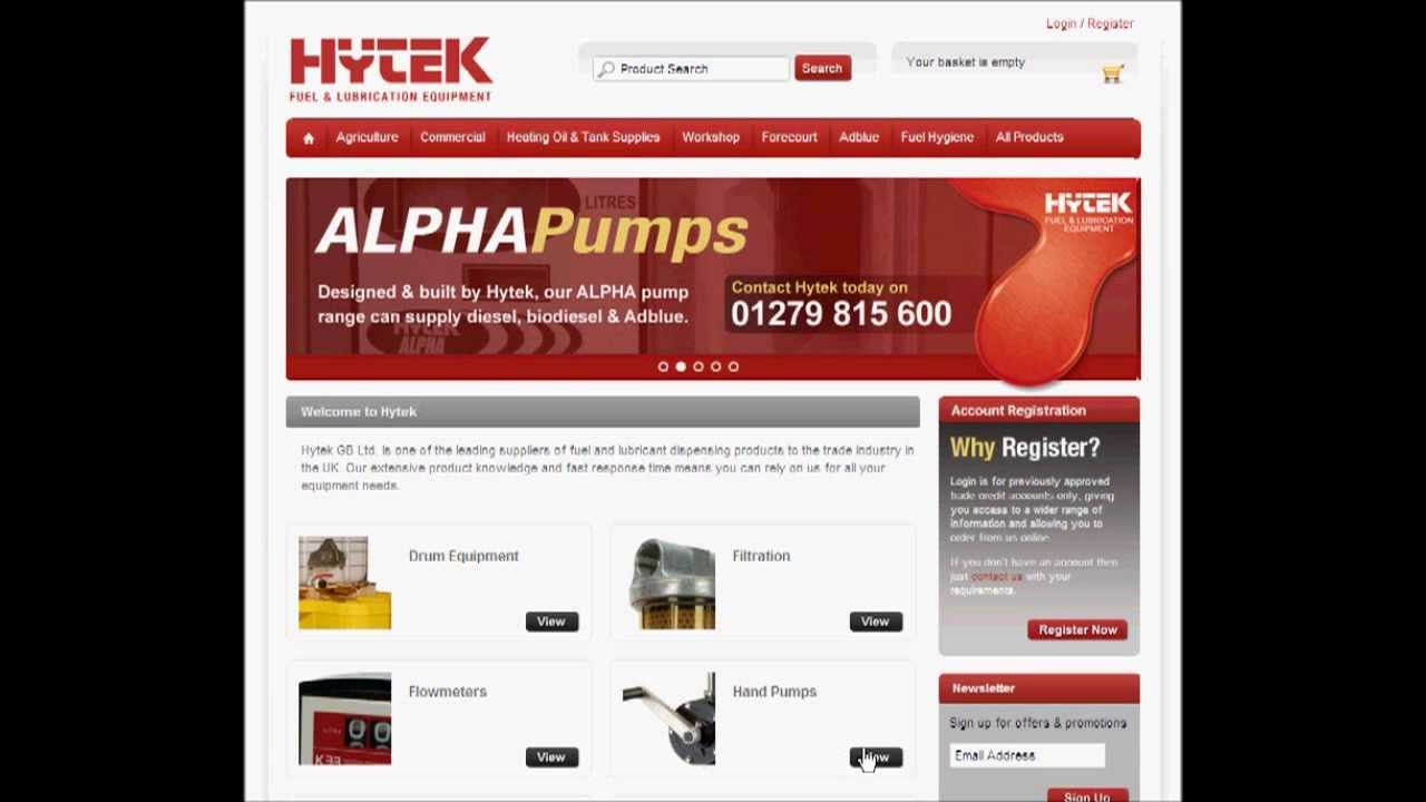 www hytekgb com A user guide to our new website