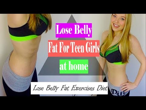 how-to-lose-belly-fat-for-teen-girls-at-home-|-lose-belly-fat-exercises-diet