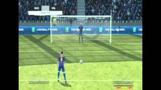 FIFA 12 Penalties Gameplay -F.C Barcelona vs AC Milan