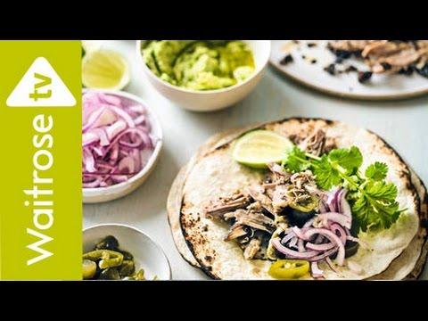 Spiced Pulled Lamb Tortillas   Waitrose