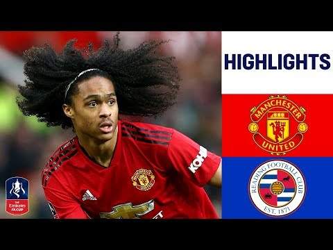 Manchester United 2-0 Reading | Lukaku Scores To Send Reds Through! | Emirates FA Cup 18/19