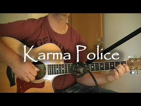 Karma Police - Radiohead | fingerstyle guitar (with tabs)