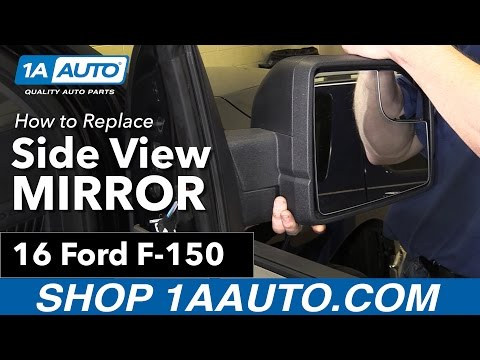 How to Replace Side View Mirror 15-19 Ford F-150