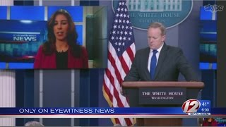 WPRI's Kalunian poses sanctuary city question during White House Skype
