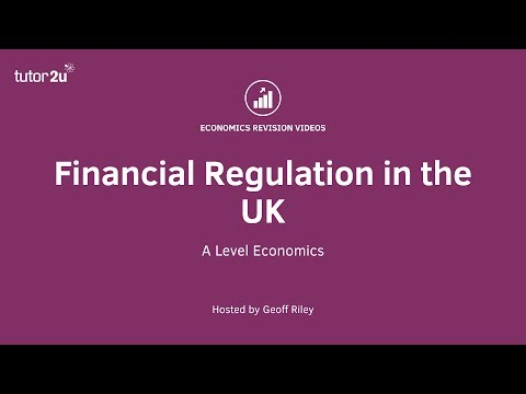 Financial Regulation in the UK