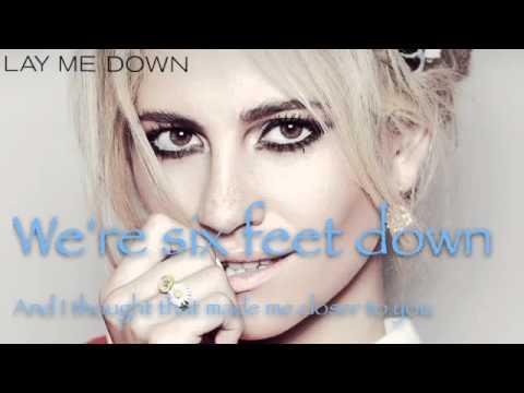Pixie Lott - Lay Me Down ( Lyrics )